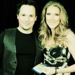 Chris and Celine Dion