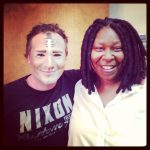 Chris and Whoopie Goldberg