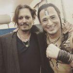 Christian et Johnny Depp